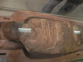 The mummy inside