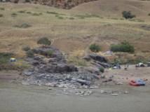 Rafting and camping