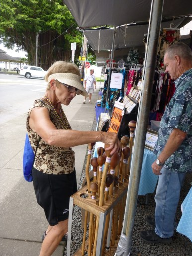 Craft market in Hilo