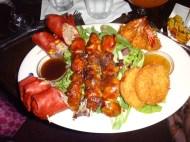 The amazing appetizer platter