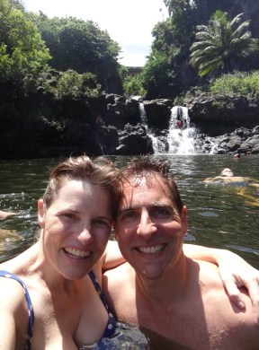 Swimming in the Seven Sacred Pools