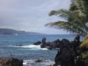 The coast at Ke'anae
