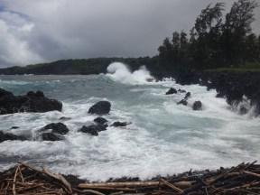 Wild waves on the Ke'anae coast