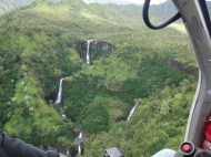 Some of the many waterfalls