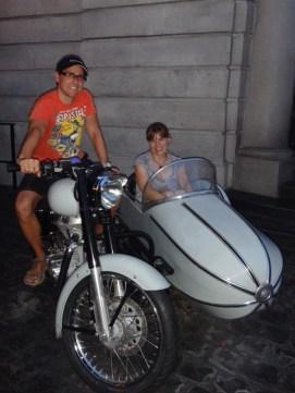 Sirius Black's flying motorcycle