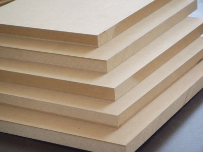 Some MDF sheets