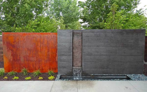 Modern Concrete Water Features