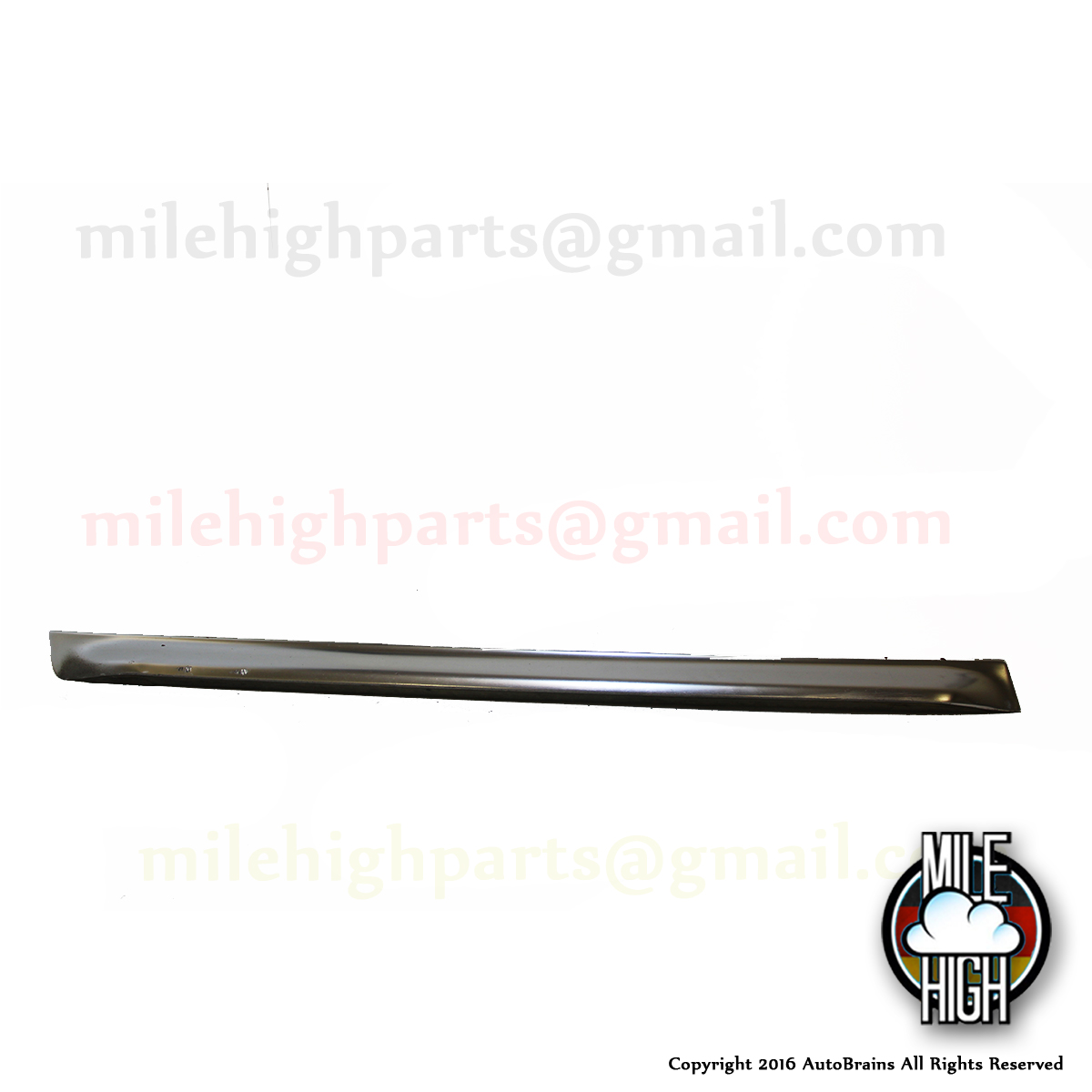 00-04 Audi Allroad Lower Door Trim Blade Panel LH Driver