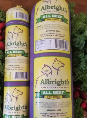 Albright's Beef Recipe for Dogs