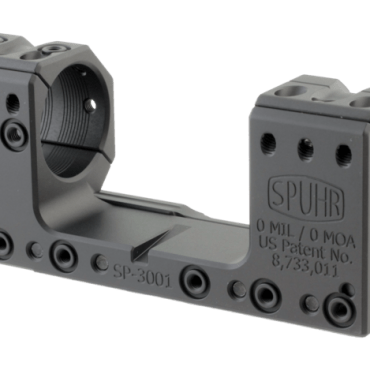 Spuhr SP-3001: 30mm Picatinny Mount 0MIL/0MOA - 1.181""