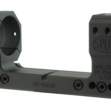 Spuhr SP-4603B: 34mm Picatinny Mount 6MIL/20.6MOA - 1.5""