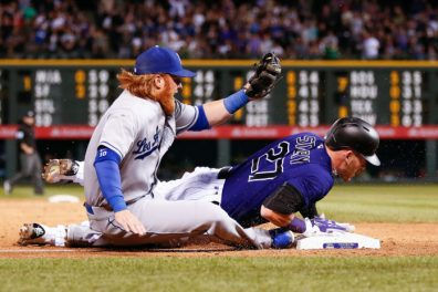 Image result for rockies-dodgers