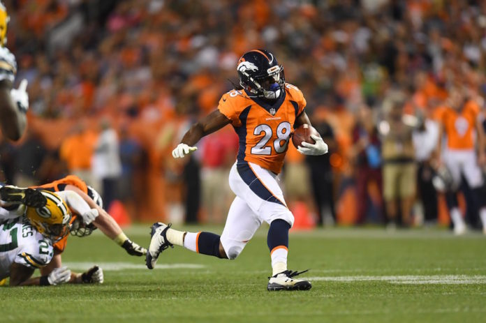 Predicting Touches For Jamaal Charles And The Broncos