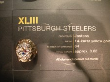 HOF Steelers SB ring