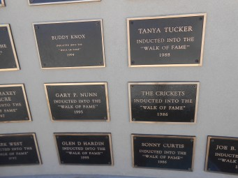 Lubbock wall of fame 1