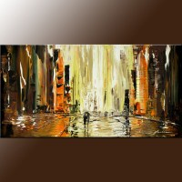 Abstract Cityscape Painting | www.pixshark.com - Images ...