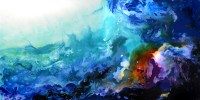 The Reef  abstract painting  Abstract Paintings, Amazing ...