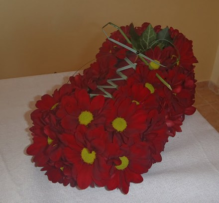 Обувка-от-цветя