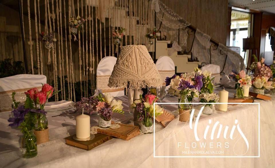 Сватба с винтидж усещане в Пловдив