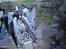 Capsula Desembarco - Lobos Espaciales