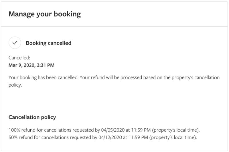 cancel travel coronavirus who to call