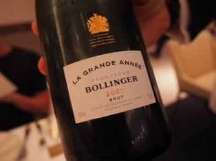 2005 Bollinger 香檳 市價$150
