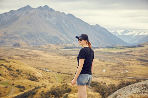 Chrisi, Miles and Shores, Reiseblog, Travelblog, blogger, Herr der Ringe, Fan, Lord of the Rings, LOTR, Edoras, Rohan, Drehort, Filmort, filming location, Aussicht, view, Neuseelad, New Zealand, Mountains, Berge, Schnee, snow