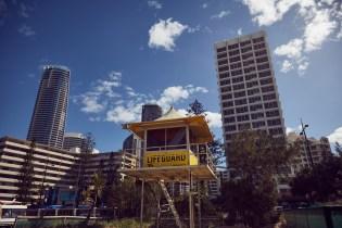Gold Coast, Hochhäuser, skyscraper, lifeguard, Rettungsschwimmer, Strand, beach, Partymeile