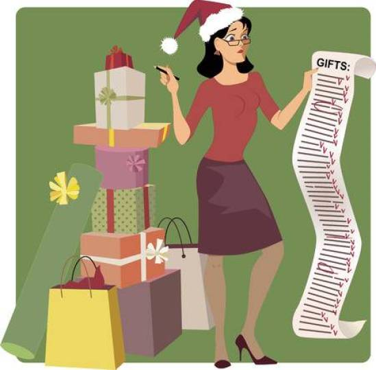 33429928-stock-vector-stressed-woman-in-a-santa-hat-crossing-out-names-from-a-long-christmas-shopping-list-pile-of-gifts-a