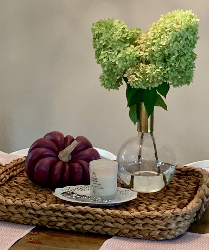 Nontraditional Fall Table