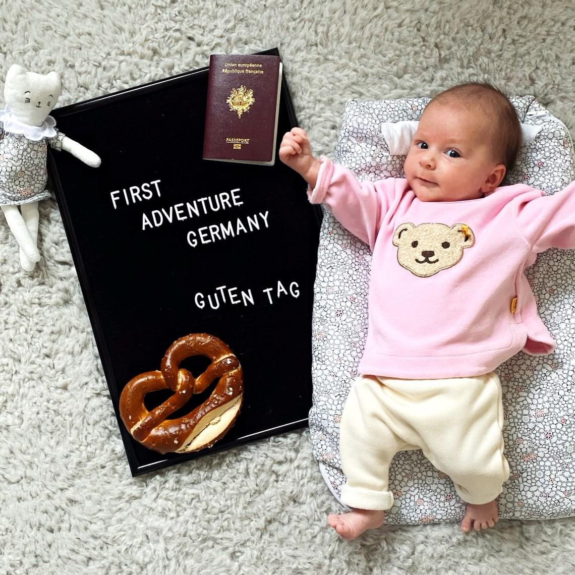 Voyager avec bébé les premiers mois.