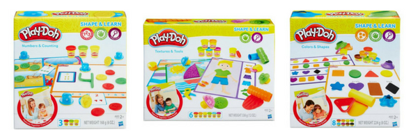 Toddler Gift Guide - Play-Doh Shape and Learn