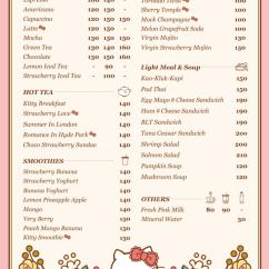 Hello Kitty Chairs Small Bean Bag Chair Bangkok : Sanrio House Cafe – Miles & Smiles Away