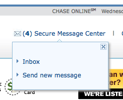 message chase