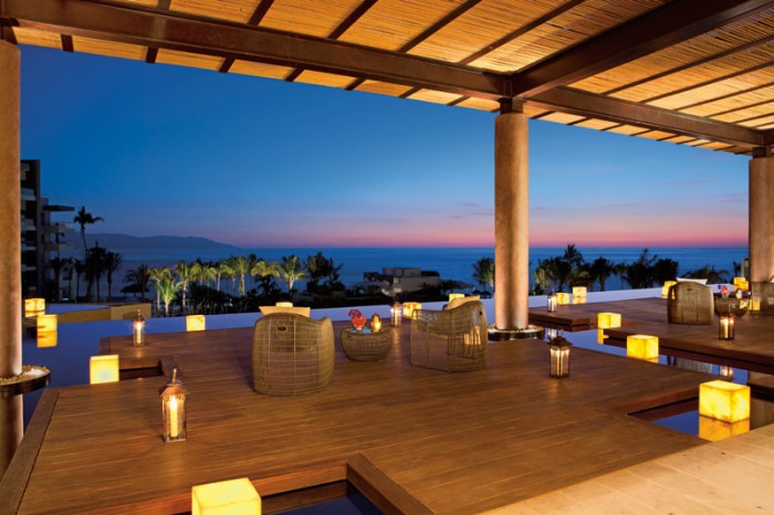 Sunset in Puerto Vallarta. Photo courtesy of AMResorts.