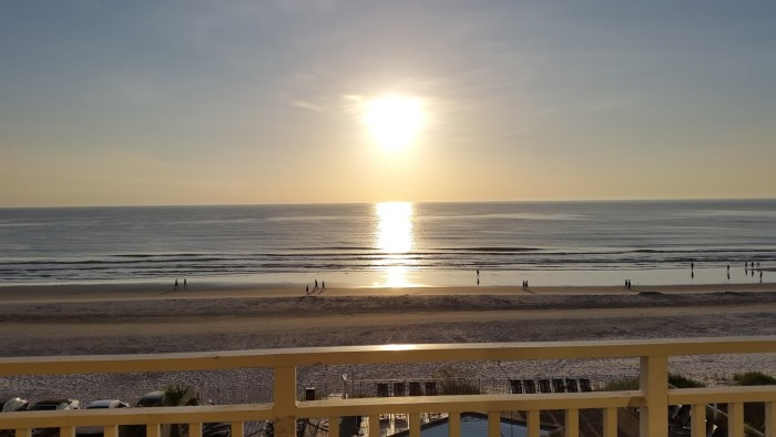 Daytona Beach--I could get used to this view!