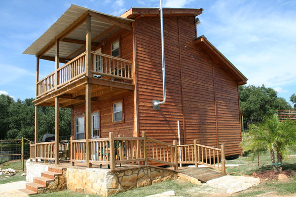 Elk Lodge Cabin Photo courtesy of Exotic Resort Zoo