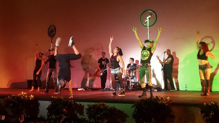 Circus Rock show
