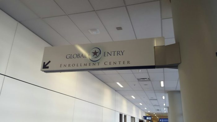 Global Entry Enrollment Center at DFW Airport