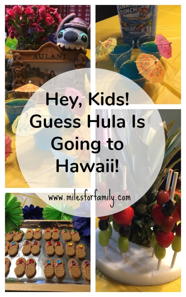 Hey, Kids! Guess Hula Is Going to Hawaii!