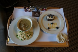 Thai Green Curry and Black Forest Cake