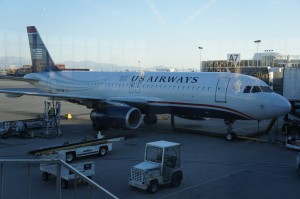USAirways flight