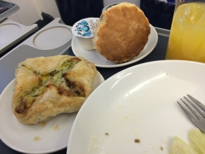 BA Meal from London City to Amsterdam