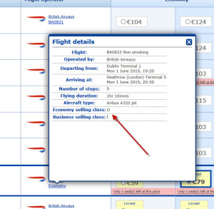 BA Booking Example