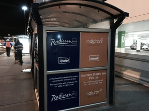 Dublin Airport Radisson - Bus Stop at T1
