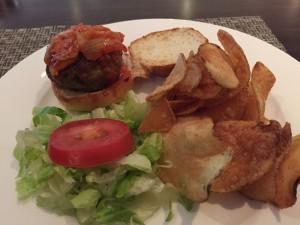 BA Concorde Room JFK - Food