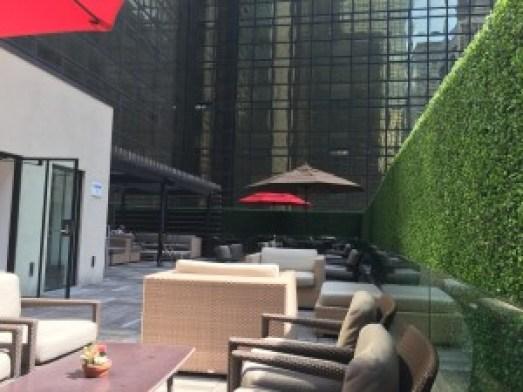 Grand Hyatt New York - Grand Club Outside area