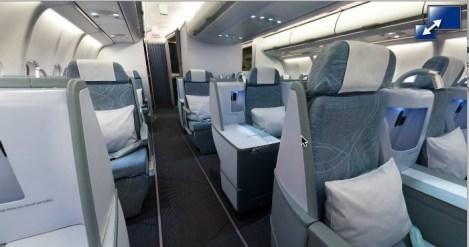 Finnair Flat Beds