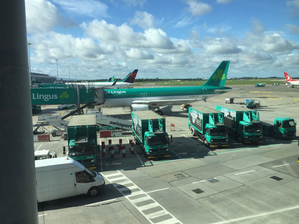 View From Aer Lingus Lounge Dublin T2
