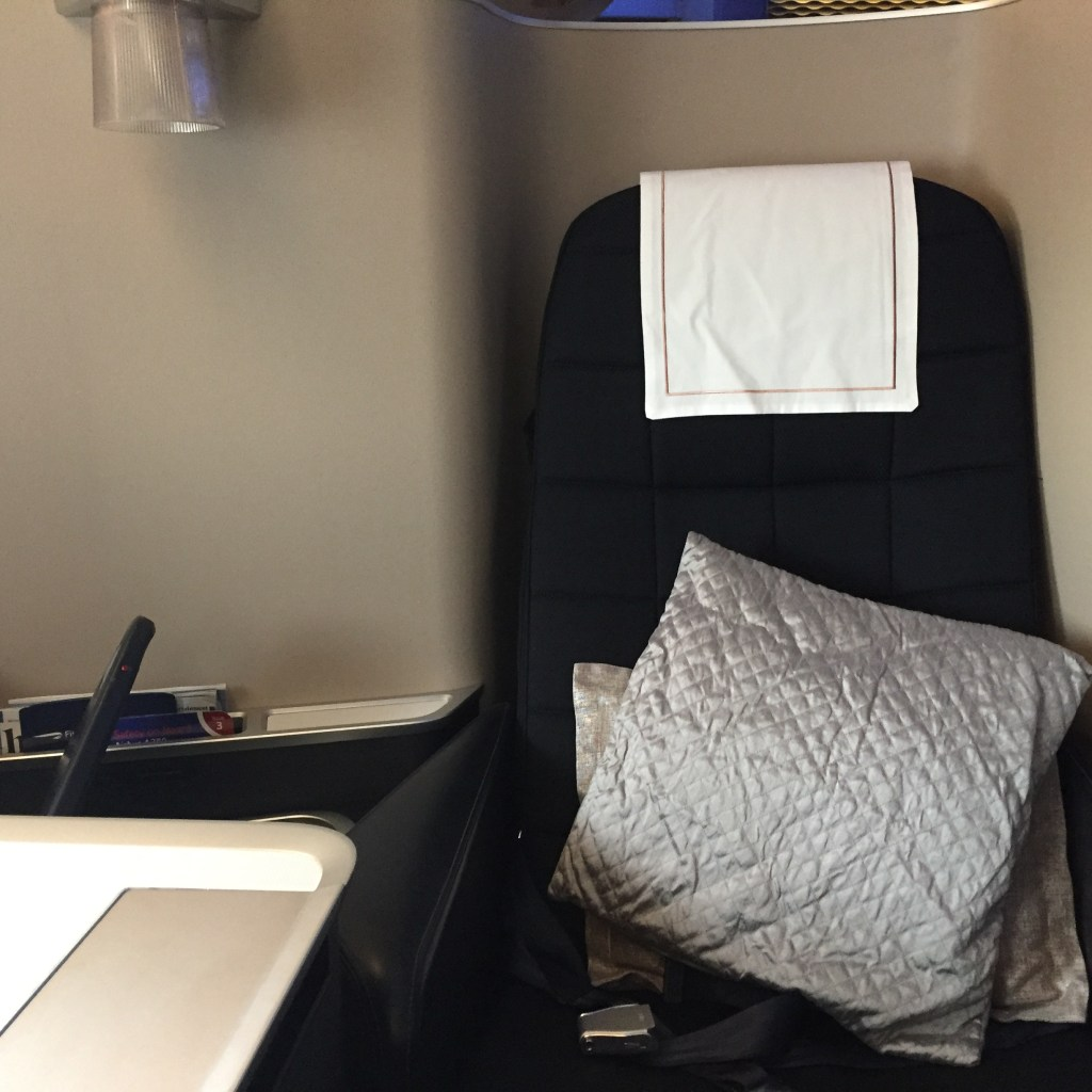 BA A380 First Seat